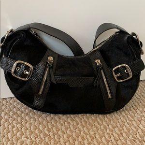 DKNY Black Horse Hair purse